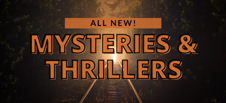 New Mysteries and Thrillers for May